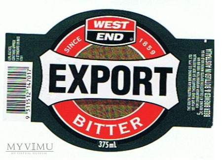 west end export bitter