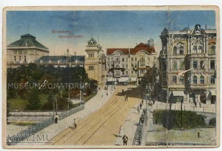 Bydgoszcz - Most gdański - początek XX wieku
