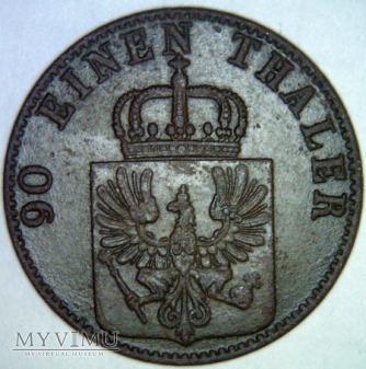Wilhelm I Hohenzollern 1861-1888-4 PFENNIG 1862 A