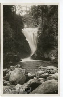 Karkonosze - Wodospad Szklarki Kochelfall - 1933