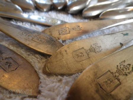 Herb Nałęcz -sztućce stołowe