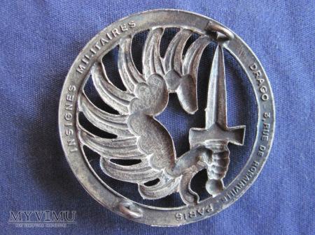 Odznaka TAP beret/srebrna