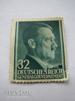 Znaczek z Adolfem Hitlerem