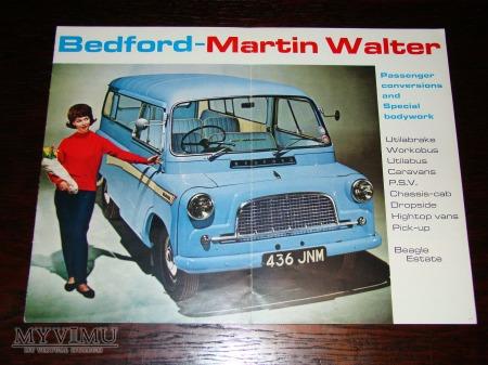 Prospekt BEDFORD MARTIN WALTER