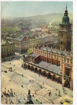 Kraków - Rynek - Sukiennice - 1963