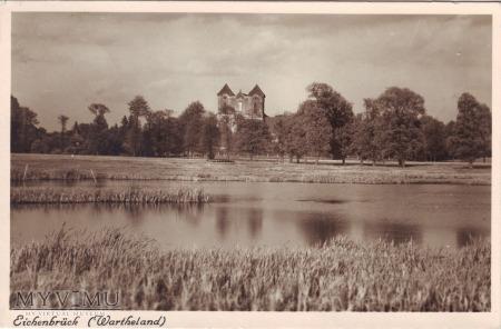 Wągrowiec - widok na klasztor
