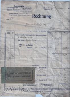 Dokument, rachunek