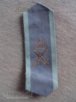 Szwecja-polowe oznaki stopnia: armen