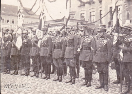 Duże zdjęcie Fotografia żołnierzy 56 Pułku Piechoty Wlkp.