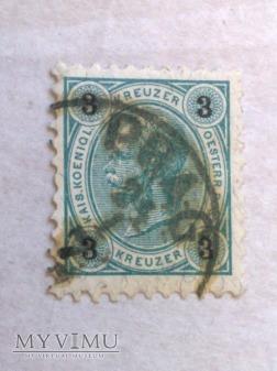Franz-Joseph 1890 3 Krajcar austro-węgierski