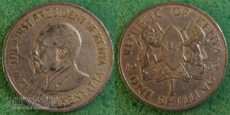 Kenia, 1 SHILLING 1969