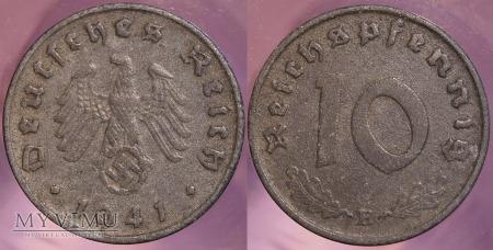 Niemcy, 1941, 10 Reichspfennig