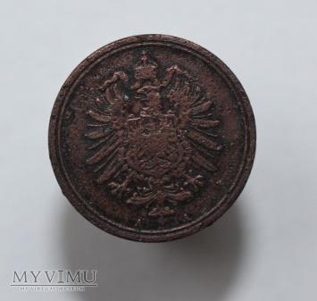 1 pfennig 1886