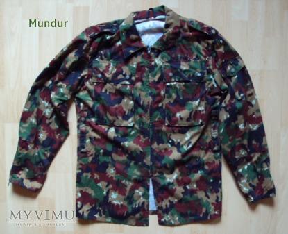 Szwajcaria: mundur polowy - bluza