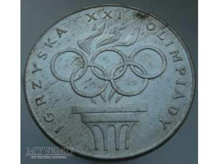 Igrzyska XXI Olimpiady, 200 zł, 1976 rok.