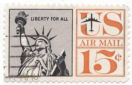 Znaczek U.S.A Statua Wolności 1961