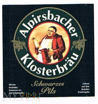 alpirsbacher klosterbräu schwarzes pils