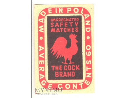 THE COCK BRAND