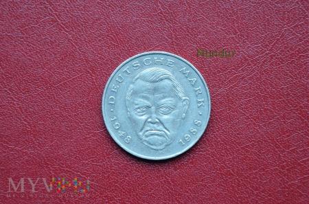 Moneta niemiecka: 2 Deutsche Mark