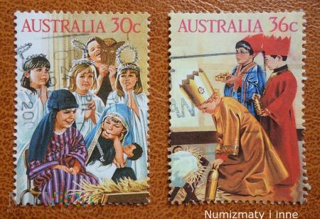 znaczki Australii za 30 i 36 centów