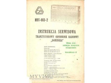 Instrukcja radia DOMINIKA