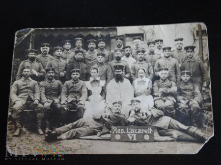 Duże zdjęcie Ranni żołnierze w szpitalu