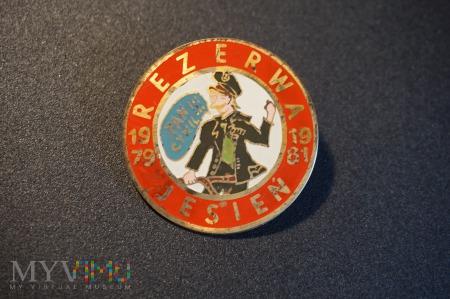 Odznaka Rezerwa 1979 - 1981