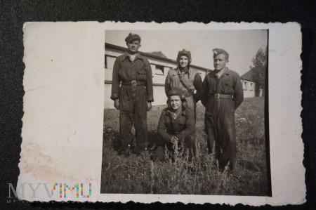 Koledzy czolgiści - pamiątka z wojska