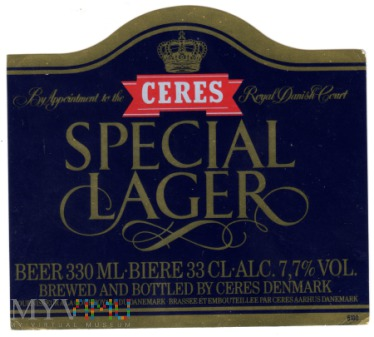 Ceres Special Lager