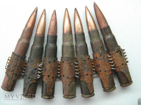Taśma z amunicją od karabinu MG 42