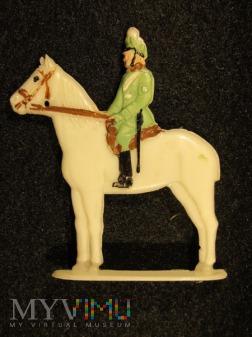 Żandarm konny w mundurze galowym