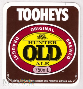 Tooheys, Hunter old ale