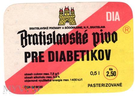 Bratislavske Pivo Pre Diabetikov