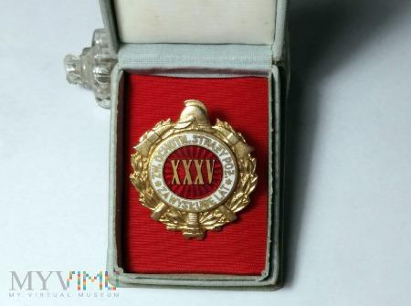 Odznaka za wysługę lat 35 - Ochotnicza Straż Pożar