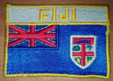 Oznaka przynależności państwowej Fidżi