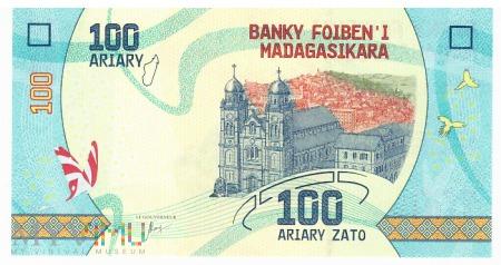 Madagaskar - 100 ariary (2017)