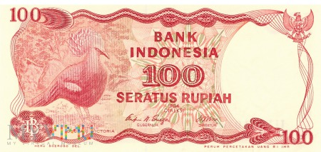Indonezja - 100 rupii (1984)