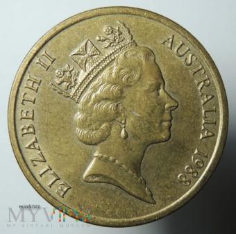 Australia 5 dolarów 1988