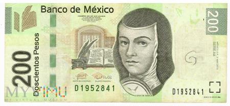 Meksyk - 200 pesos (2010)