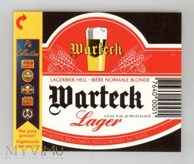 Warteck, Lager