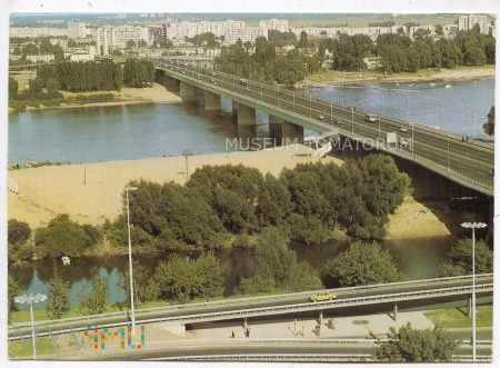 W-wa - Most Łazienkowski - 1980