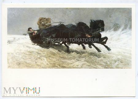 Chełmoński - Powrót z balu - 1983