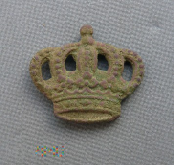 Pruska korona z pagonu