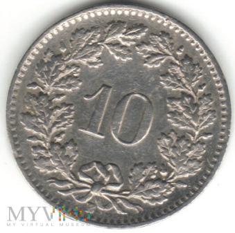 10 RAPPEN 1962