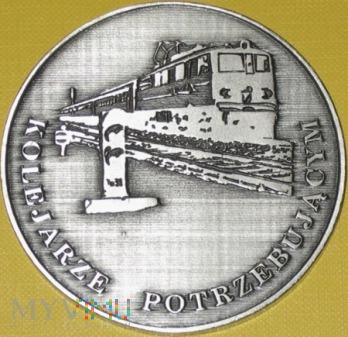 Medal 50 lat Kolejarskiej Służby Krwi