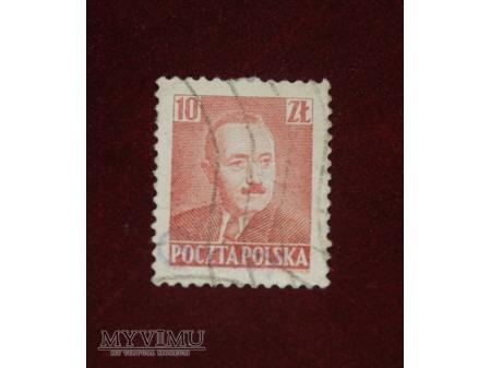 Bolesław Bierut. 10 złotych.