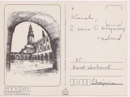 List od Biskupa Edwarda Białogłowskiego