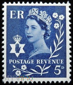 Irlandia Północna 5d Elżbieta II
