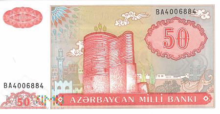Azerbejdżan - 50 manatów (1993)