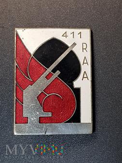 Odznaka 411 Pułku Artylerii Przeciwlotniczej